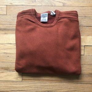 Timberland Orange Crew Neck sweater XXL